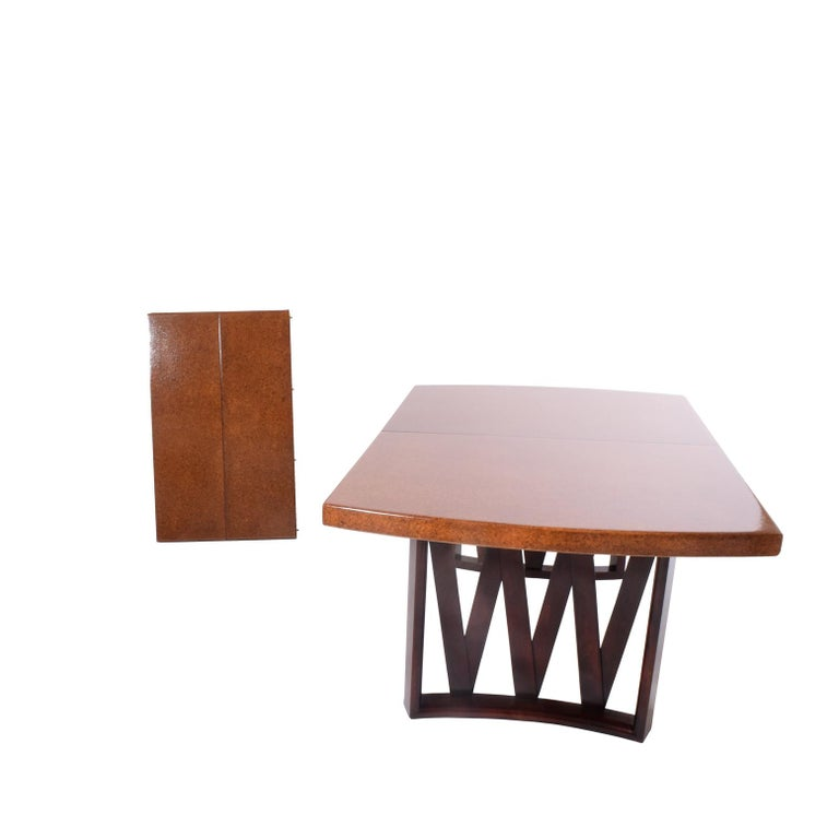 Modern Paul Frankl Dining Table for Johnson Furniture Co. For Sale