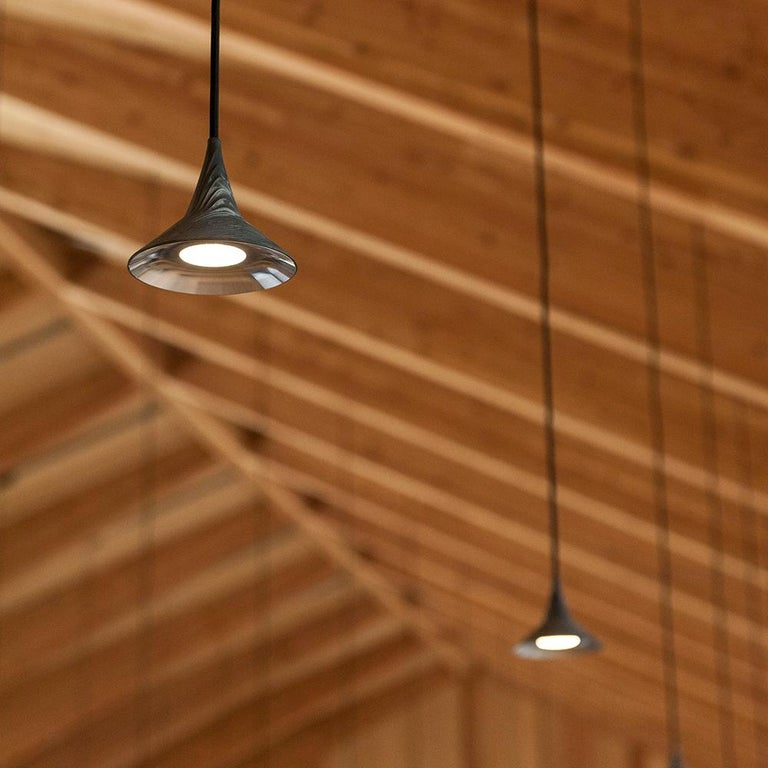 Italian Artemide Unterlinden LED Pendant Light in Aluminum by Herzog & De Meuron For Sale