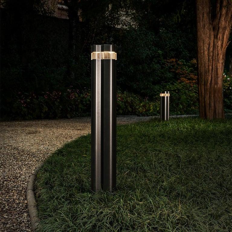 Italian Artemide Logico Triple Garden Light by Michele De Lucchi, Daniele Moioli For Sale