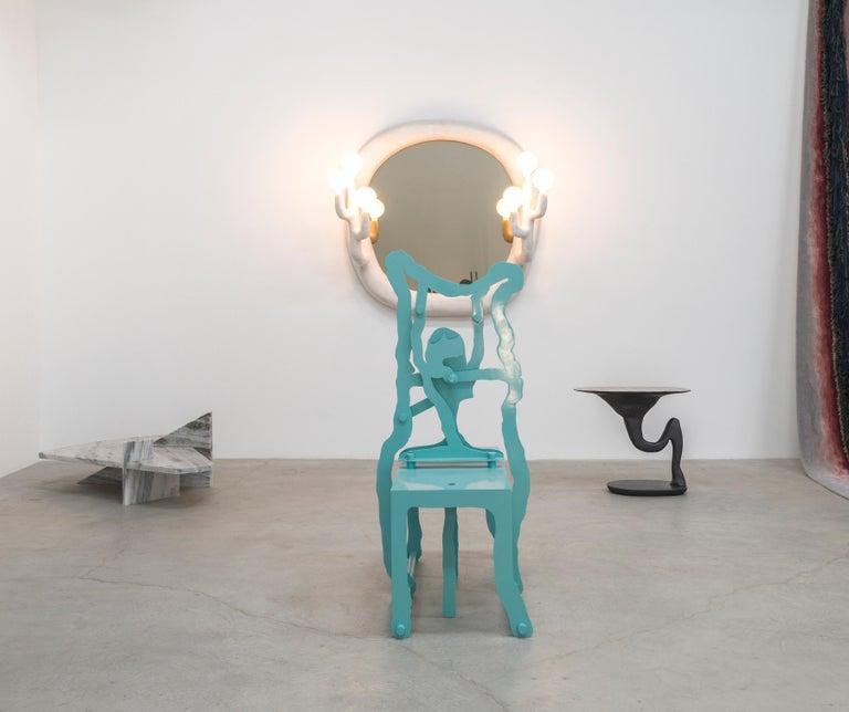 Contemporary Orissa White by Jessica Martin For Sale