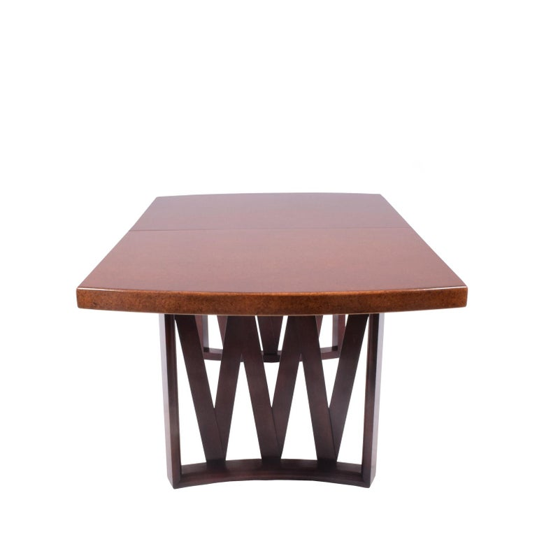 American Paul Frankl Dining Table for Johnson Furniture Co. For Sale