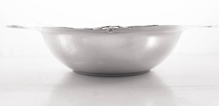 Early 20th Century Sterling Art Nouveau Bowl For Sale