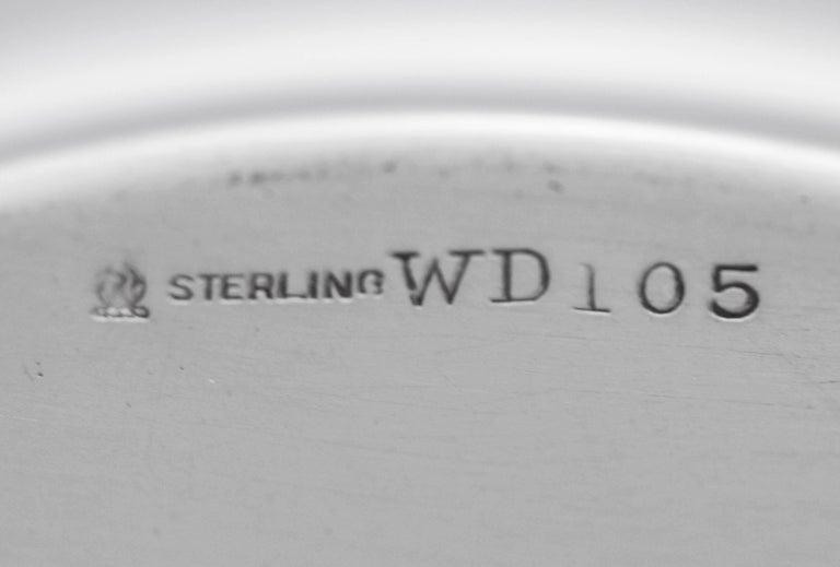 Sterling Silver Sterling Art Nouveau Bowl For Sale