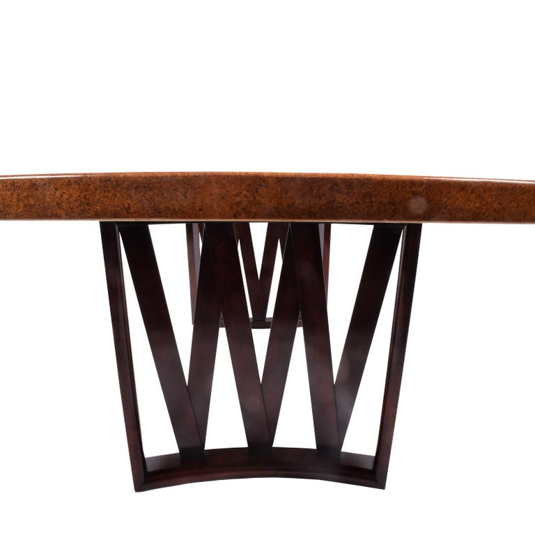 Mid-20th Century Paul Frankl Dining Table for Johnson Furniture Co. For Sale