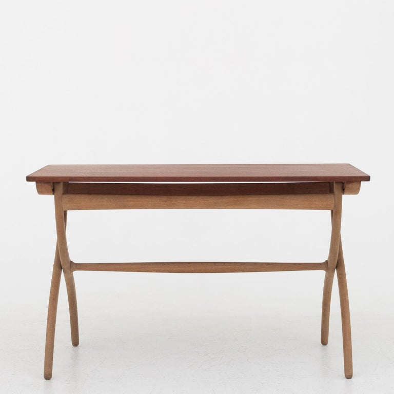 Folding Table by Ole Wanscher For Sale 1