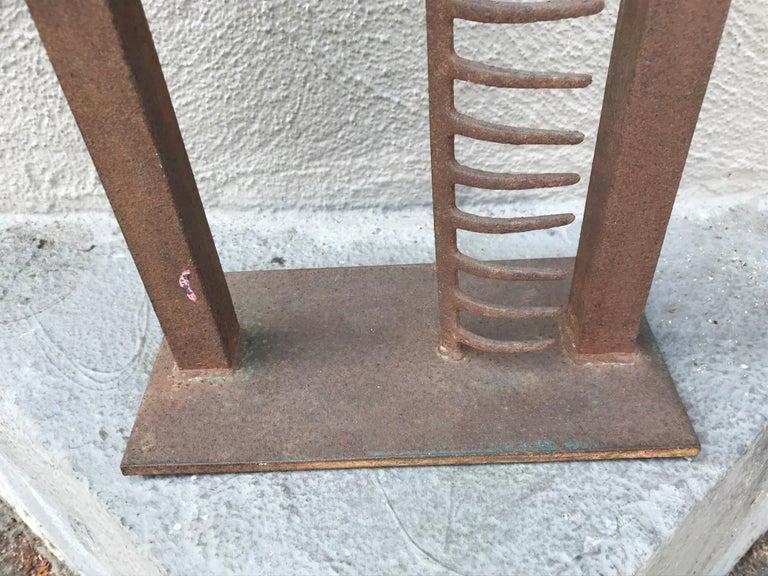 Modern Steel Sculpture For Sale 2