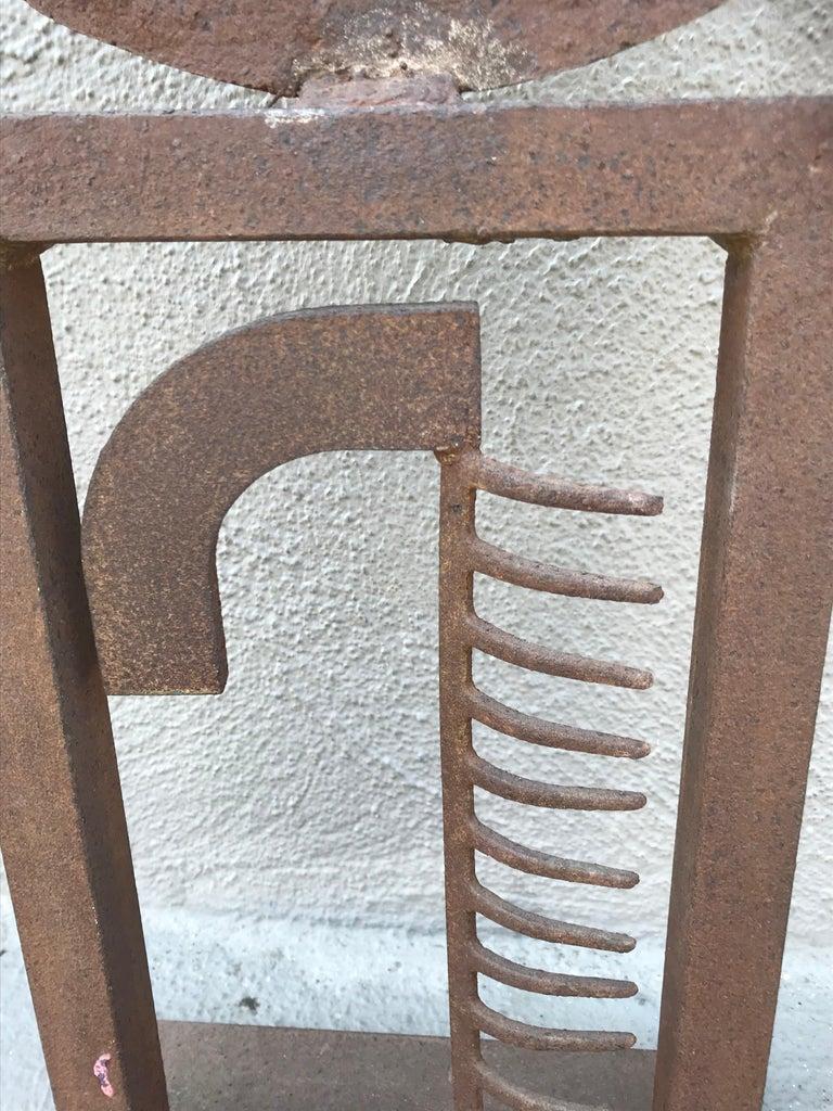 Modern Steel Sculpture For Sale 3