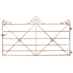 Georgian Wrought Iron Estate Gate