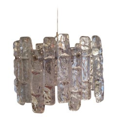 1960s Murano Glass Chandelier by Kalmar, Austria