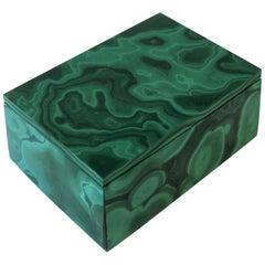 Green Malachite Box