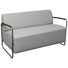 Dietiker Logo Two-Seat Sofa