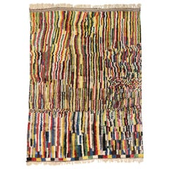 Berber Moroccan Rug with Contemporary Abstract Design, Moroccan Berber Carpet