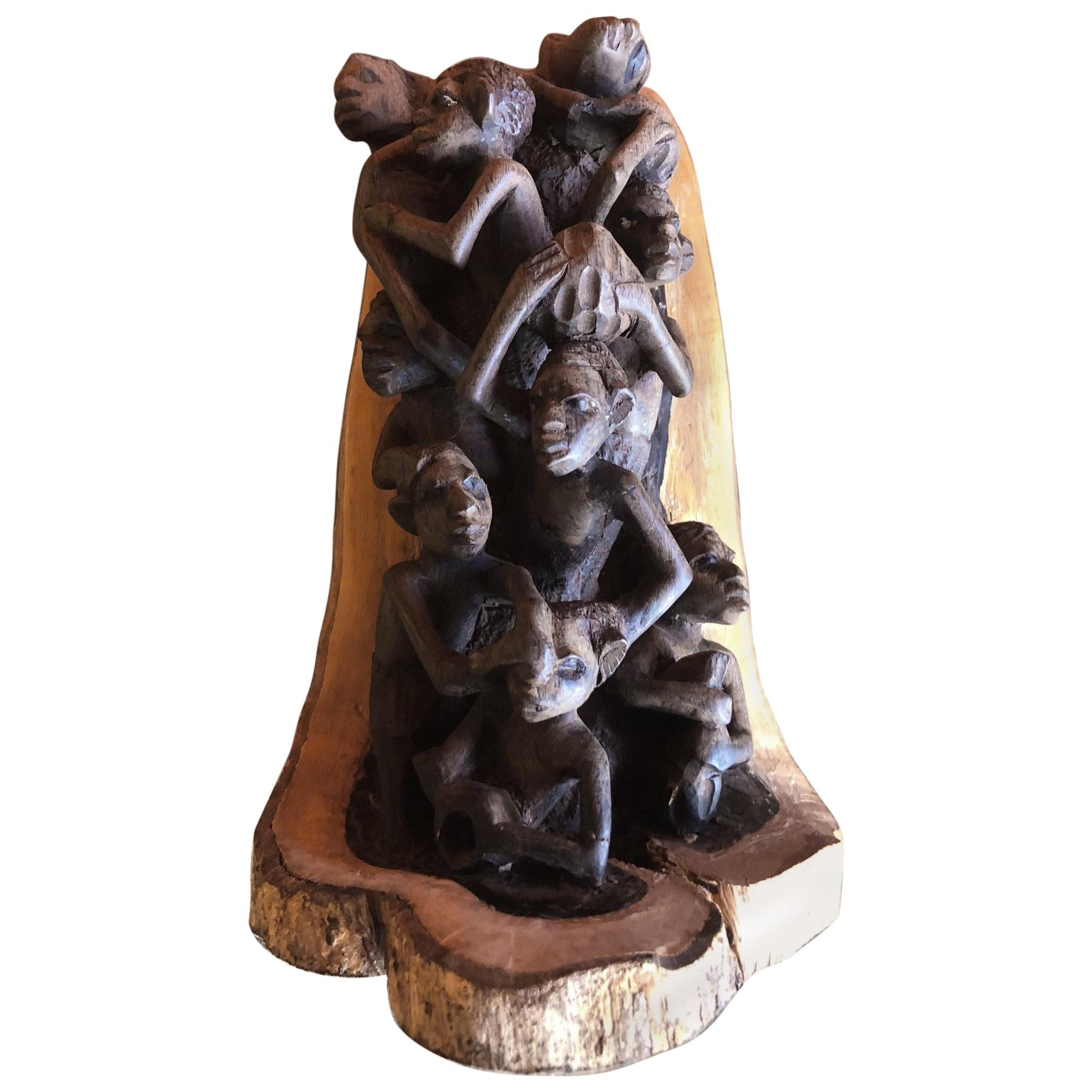 African Tree Carving