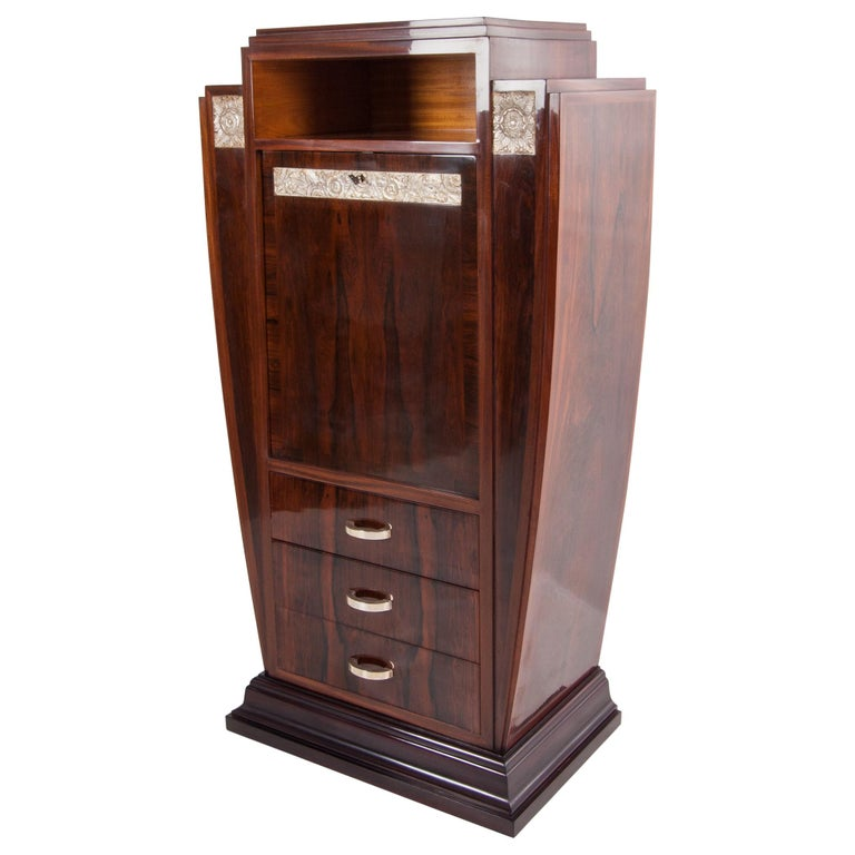 Antique French Art Deco Cabinet from the 1920s For Sale