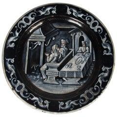 19th Century Emaille de Limoges Plaquette