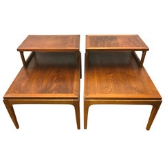 Pair of Midcentury Lane Altavista End Tables, Nightstands