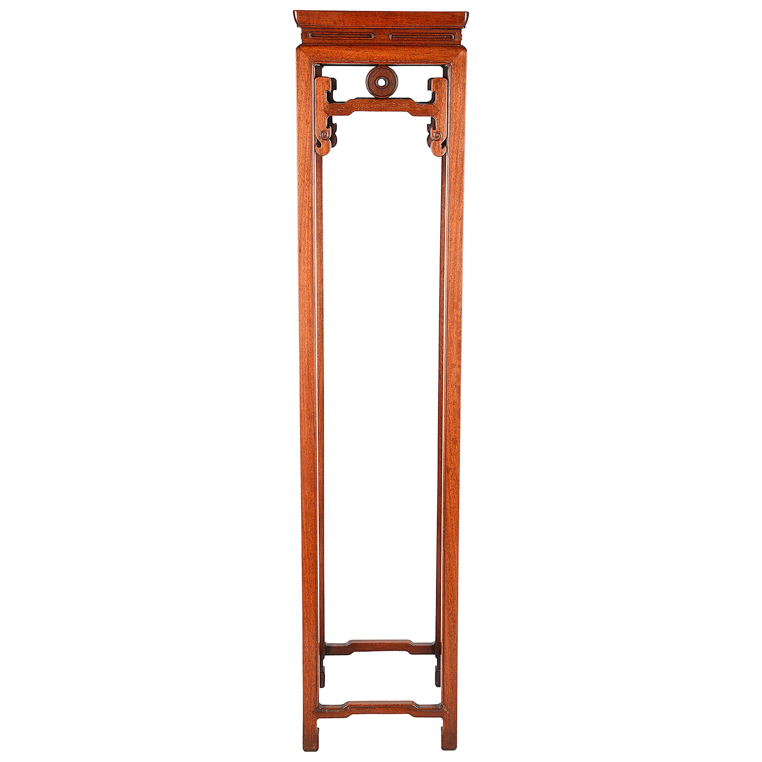 19th Century Chinese Hardwood Stand