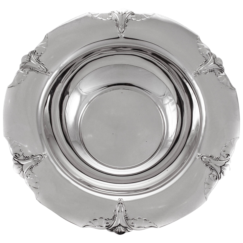 Sterling Art Nouveau Bowl