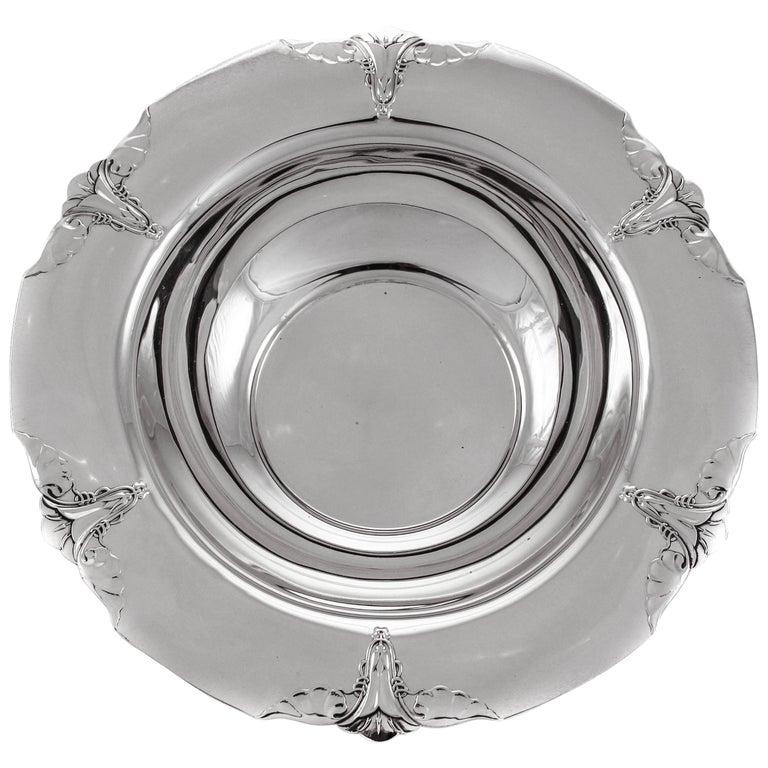 Sterling Art Nouveau Bowl For Sale