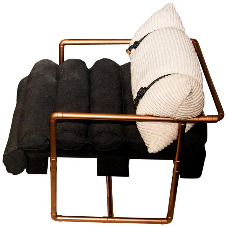 """Descartes"" Armchair Modernist Style For Sale"