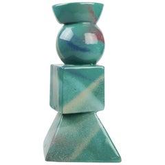 Post-Modern Sculptural Ceramic Vase