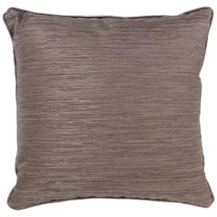 Brabbu Stump Pillow in Brown Linen with Textured Detail
