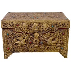Early 19th Century Tibetan Metal Box