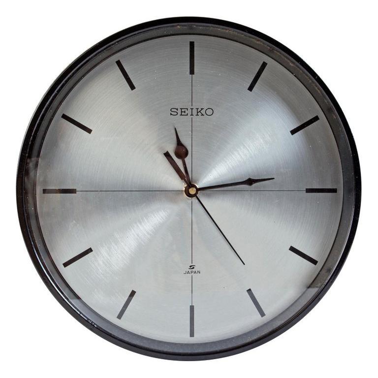 Seiko Ship's Nautical Analog Clock, 1980s
