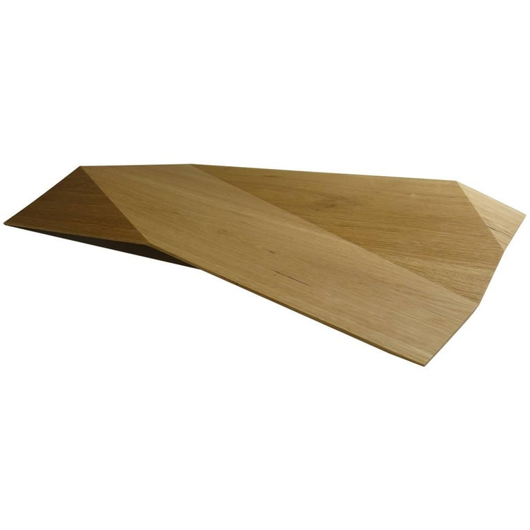 """Modern Shell """"Origami"""" Solid Wood For Sale"""