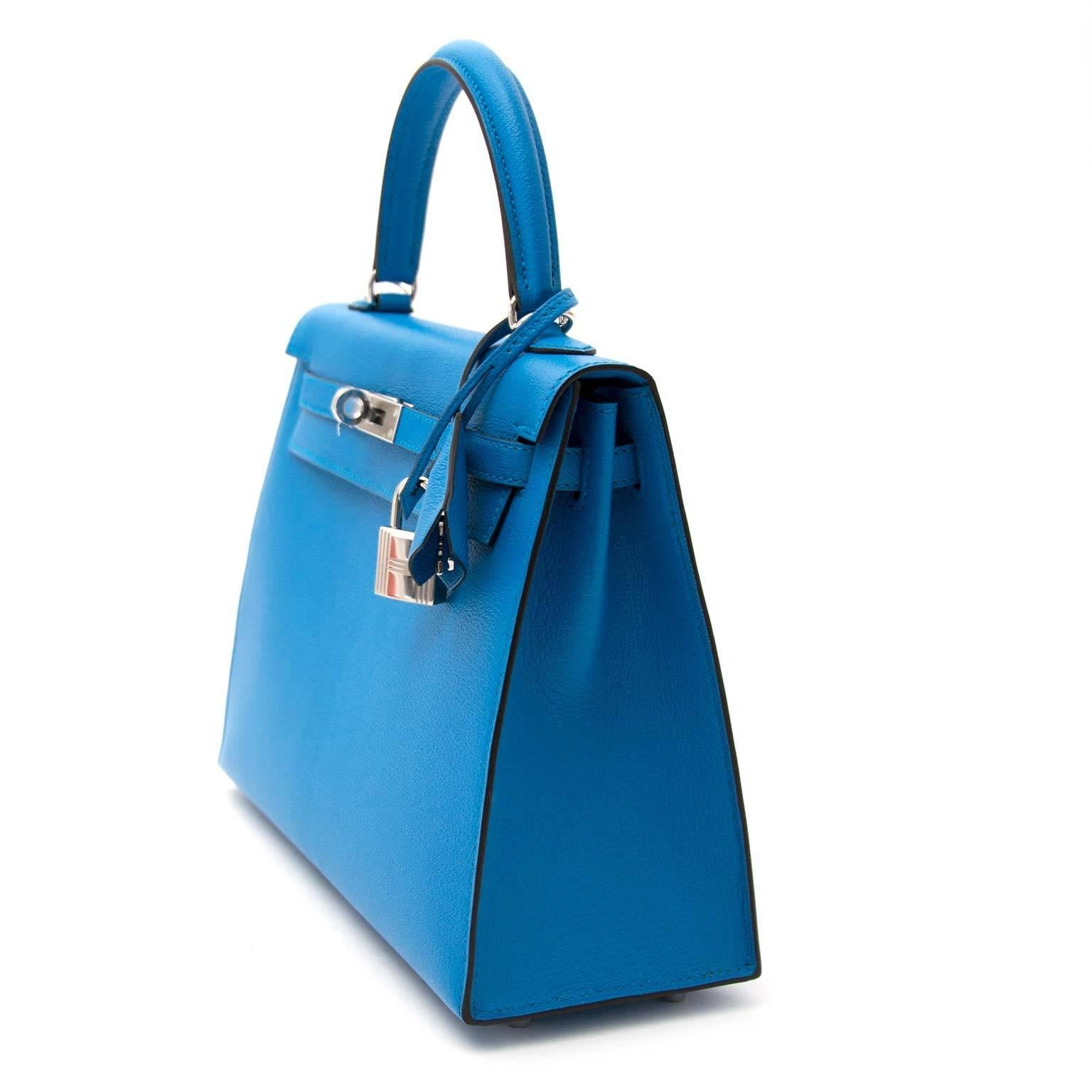 6ba335cee4ba Hermès Kelly 25 Zanzibar PHW Bag at 1stdibs