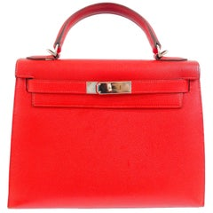 Hermès Kelly 28 Red