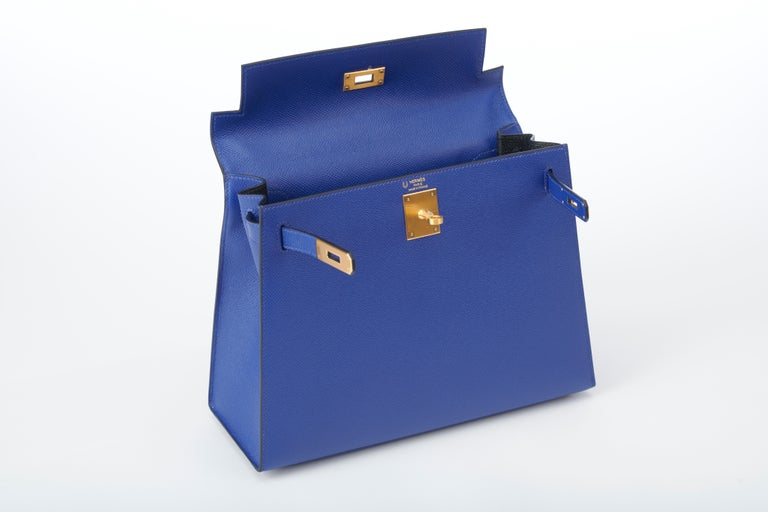 Unworn limited edition personalized Hermes Kelly 28cm. Custom designed