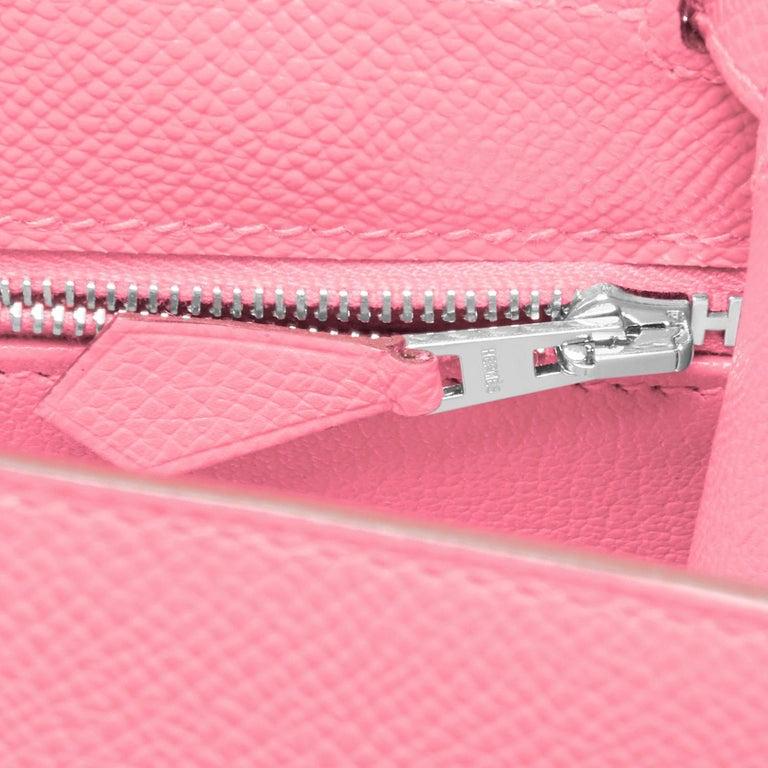 Hermes Kelly 28cm Rose Confetti Pink Sellier Shoulder Bag Y Stamp, 2020 For Sale 5