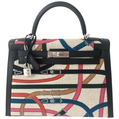 Hermes Kelly 32 Cavalcadour Kelly Bag Limited Edition