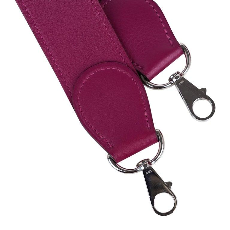 Hermes Kelly 32 Lakis Bag Tosca Swift Palladium Hardware nEW For Sale 7