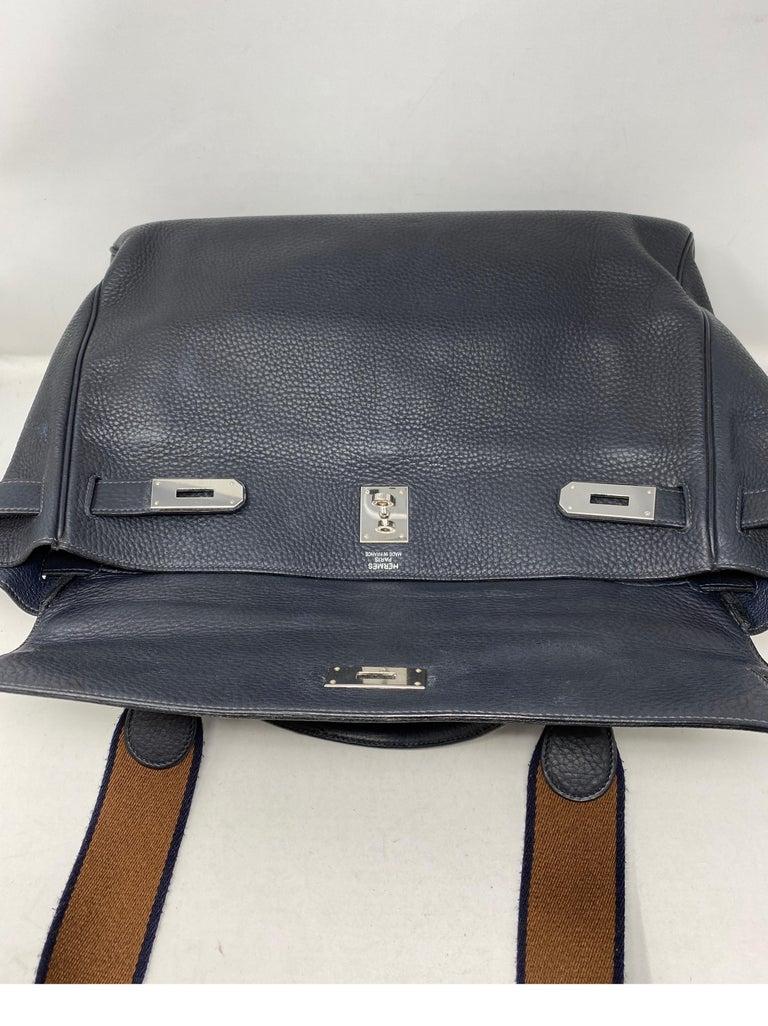 Hermes Kelly 40 Blue Indigo Bag For Sale 7