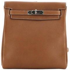Hermes Kelly Ado II Backpack Barenia Faubourg 20