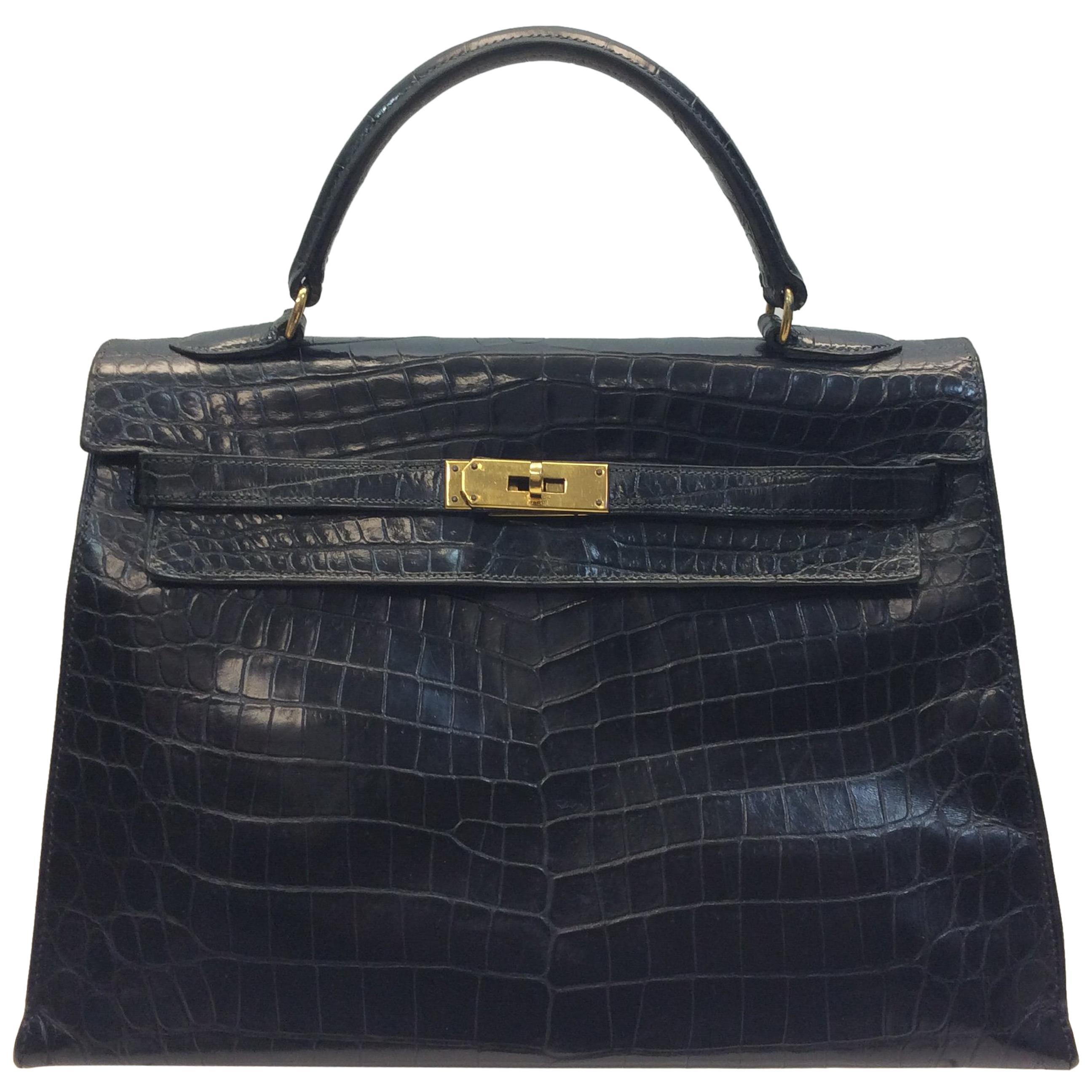 57bea3237472 Hermes Alligator Bags - 79 For Sale on 1stdibs