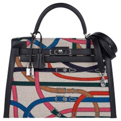 Hermes Kelly Cavalcadour Sellier 32 Bag Sellier Limited Edition New/Box Rare