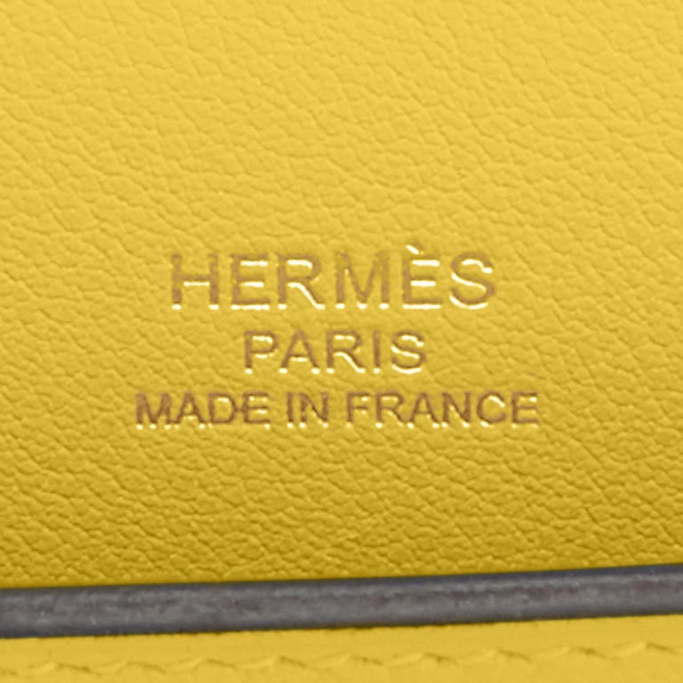 Hermes Kelly Cut Lime Swift Gold Hardware Y Stamp, 2020 For Sale 2