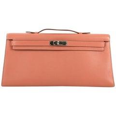 Hermes Kelly Longue Handbag Swift