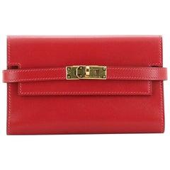 Hermes Kelly Depliant Wallet