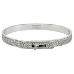 Hermes Kelly Diamond Bracelet