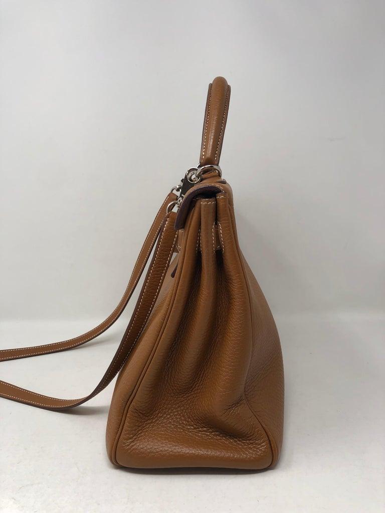 Hermes Kelly Gold 32 Bag For Sale 1