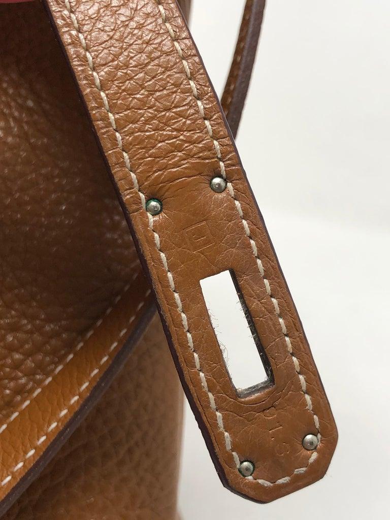 Hermes Kelly Gold 32 Bag For Sale 4