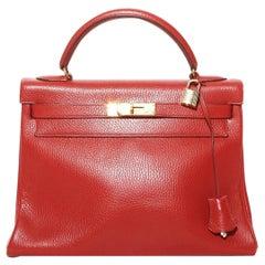 Hermes Kelly Handbag (1991)