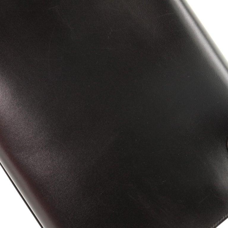 Hermes Kelly Handbag Noir Box Calf with Gold Hardware 32 For Sale 6