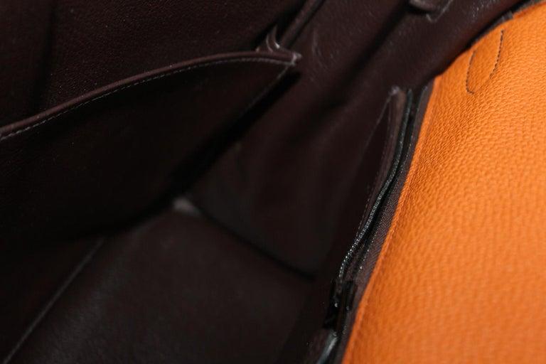 Hermes Kelly Handbag Tricolor Togo 32  For Sale 2