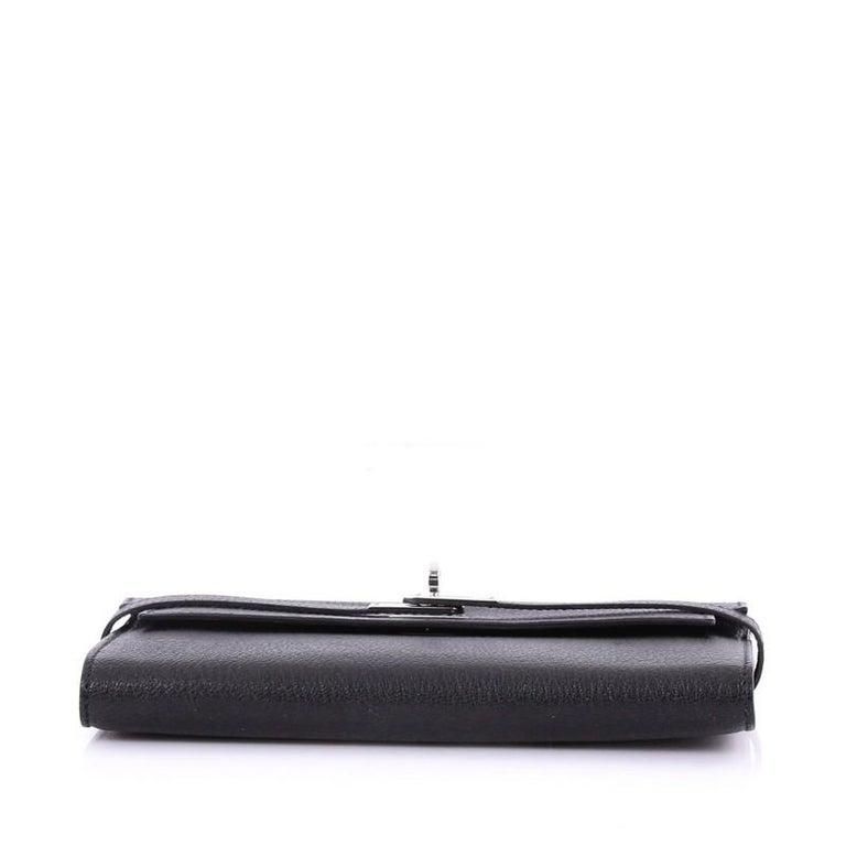 Hermes Kelly Long Wallet For Sale at 1stdibs 30440808f