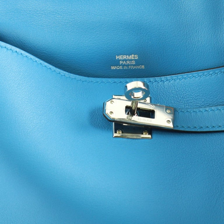 Hermes Kelly Pochette Swift For Sale 1